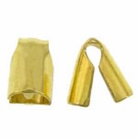 Klemmetjes bek goud voor Leer/rubber