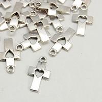 Kruisje antiek zilver