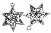 Ster antiek zilver