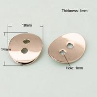 Druppel component antiek zilver