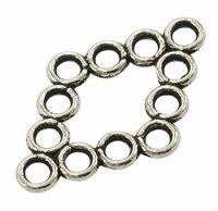 Wieber component antiek zilver