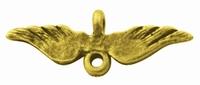 Vleugel coponent antiek goud