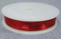 Bras wire rood