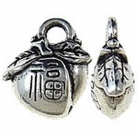 Eikeltjes antiek zilver
