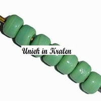 Turquoise/groen opaque