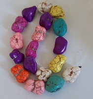 Turquoise rond 4