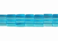Blokje blauwe kraal