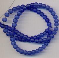 Donker Blauwe kraal mat 4