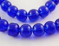 Donker paars/blauwe kraal  4
