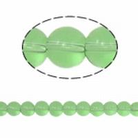 Rond 4 Mint groene kraal