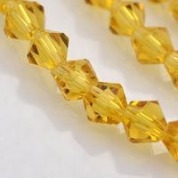 bicoon Kristal  hand geslepen  goud