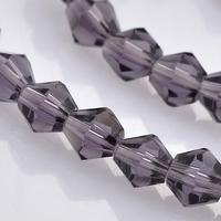 bicoon Kristal  hand geslepen Amethis paars
