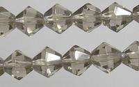 bicoon Kristal  hand geslepen  grijs 4