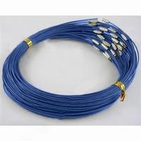 Spang met magneet sluiting donker blauw