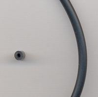 Rubber hol zwart 3