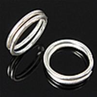 Splitringetjes zilver 8x0,7