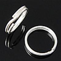 Splitringetjes zilver 12x07