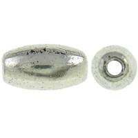Kraaltje zilver ovaal