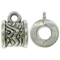 Buisje bewerkt antiek zilver