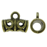 Buisje krom bewerkt antiek brons