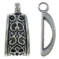 Hanger lang antiek zilver