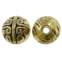 Ronde kraal antiek goud