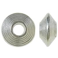 Rondel antiek zilver