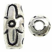 Ovaal antiek zilver