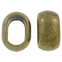 Schuif kraal antiek brons