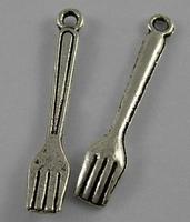 bestek vorkjes  antiek zilver