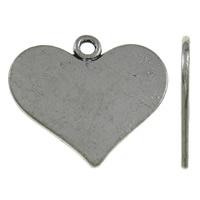 Hart antiek zilver