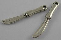Bestek mesjes antiek zilver