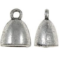 Ovaal lijmbusje  antiek zilver