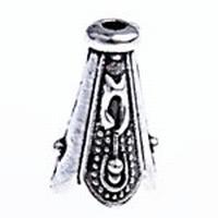 Kapje punt antiek zilver