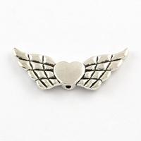 Engel vleugel groot antiek zilver