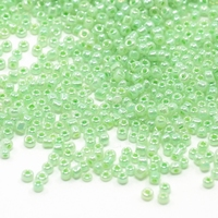 Luster opaque zacht Groen