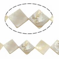 Schelp drie hoekjes parelmoer