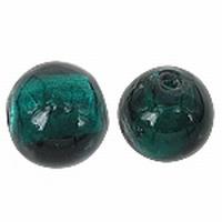 Mint groen plat ronde kraal