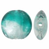 Helder Turquoise zilverfolie duo kleur