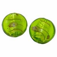 Mint groen zilverfolie hart