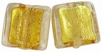 Goud bruin zilverfolie vierkant