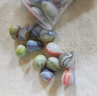 Turquoise/groen zilverfolie duo kleur
