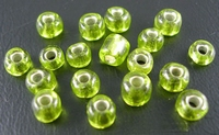Groen mos zilverfolie