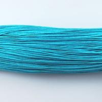 Wax draad blauw