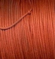Wax draad donker oranje