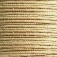 Wax draad beige bruin