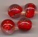 Glas kraal rood LUM0080R14