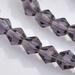 bicoon Kristal  hand geslepen paars