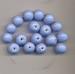 Hemel blauwe kraal  opaque 11