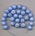 Hemel blauwe kraal opaque 9